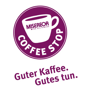 Mittwoch, 30.06. sofort der nächste coffee stop auf dem Wochenmarkt – mit Ausschank!