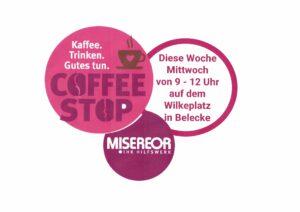abgesagt! – coffee stop am 15. September